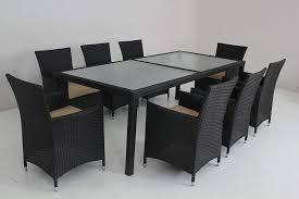 Amazon.com - Husen Wicker Patio Indoor Dinner Table And ...