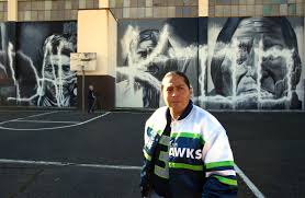100 Andrew Morrison Artist Vows To Restore Defaced Native American Murals The Seattle