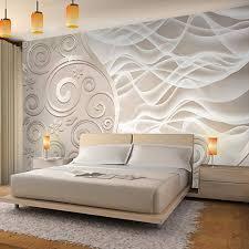 fototapeten 3d abstrakt beige 352 x 250 cm vlies wand