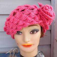 Crochet Pattern Hat Adult Crochet Hat Pattern Beret Hat Adult Hat