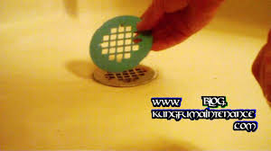 Bathtub Drain Strainer Removal by How To Replace A Tired Rusted Discolored Shower Floor Drain Cover