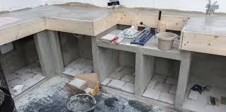 projekt outdoorküche teil 4 arbeitsplatte und schränke