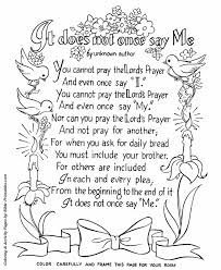 The Lords Prayer Coloring Page 23