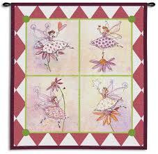 100 Robbin Rawlings Flower Fairies Wall Tapestry By Artcom