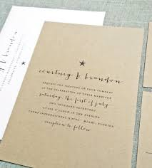 Courtney Kraft Beach Wedding Invitation Sample