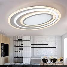 58w led rund klassisch kreativ deckenleuchte modern einfach metall deckenleuchte dumm weiß wohnzimmer studie eleganter decke beleuchtung