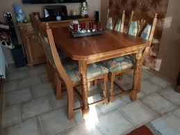 esstisch esszimmer tisch eiche rustikal 4 stühle