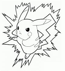 Top Coloring Pokemon Pages Pikachu In Free Printable For Kids