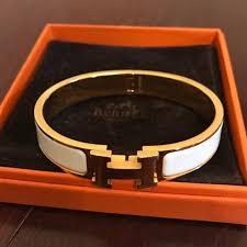 hermes h clic clac 23 hermes jewelry hermes h clic clac enamel bracelet from