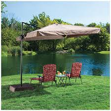 wilson fisher offset 8 5 square umbrella with removable