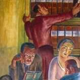 Coit Tower Murals Wpa by Recalling The Creation Of Coit Tower U0027s Murals Sfgate