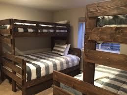 bunk beds queen over queen bunk beds simple queen bunk bed plans