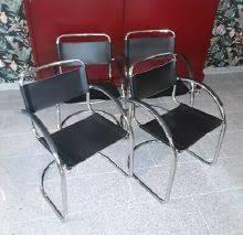 freischwinger stühle 4er set chrom schwingstuhl mi