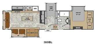 Fifth Wheel Bunkhouse Floor Plans by Astonishing Design 2 Bedroom Fifth Wheel Bedroom 5th Wheel Floor