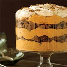 Pumpkin Mousse And Ginger Parfait by Spiced Pumpkin Mousse Trifle Rachael Ray Every Day