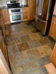 slate floor slate patterns and kitchens