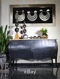 buffet kommode wohnzimmer schwarz anrichte buffettschrank