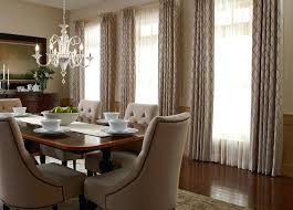 Formal Dining Room Bay Window Treatments Budget Blinds Custom Sheer Shades Curtains