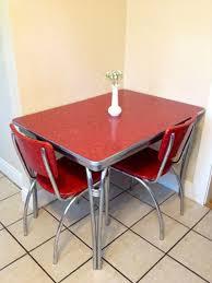Vintage 1940s 50s Chrome Mesmerizing Chrome Kitchen Table