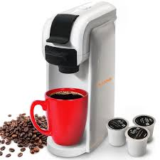 Mueller Single Serve Coffee Maker Machine For Most Cup Pods Including K Speed Brew Technology Travel One Brewer