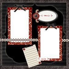 Printable Scrapbook Templates