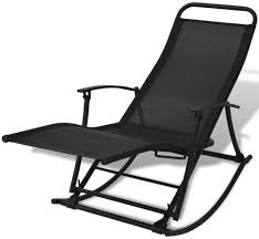 VidaXL Foldable Garden Rocking Chair Black   Garden Rocking ... First Choice Lb Intertional White Resin Wicker Rocking Chairs Fniture Patio Front Porch Wooden Details About Folding Lawn Chair Outdoor Camping Deck Plastic Contoured Seat Gci Pod Rocker Collapsible Cheap For Find Swivel 20zjubspiderwebco On Stock Photo Image Of Rocking Hanover San Marino 3 Piece Bradley Slat