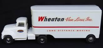 100 Toy Moving Truck 1956 Tonka Wheaton Van Lines Pressed Steel 235