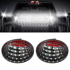 100 Truck Bed Lighting System Amazoncom Audew 2Pcs 60 Light Strips Unloading Cargo
