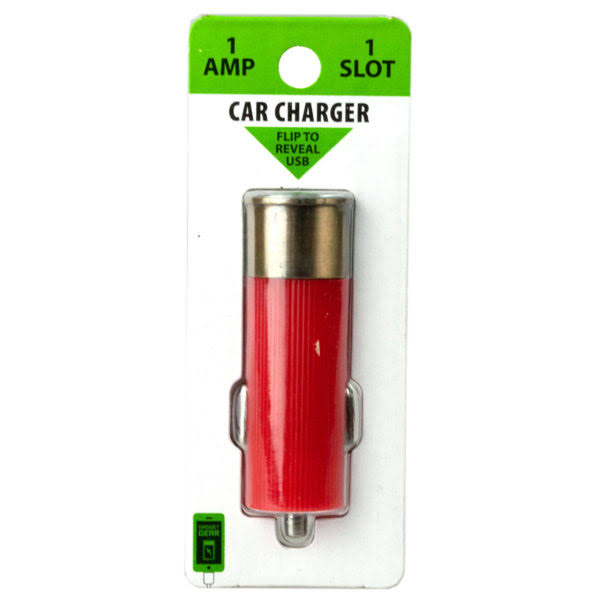 Bulk Buys Shotgun Themed USB Car Charger