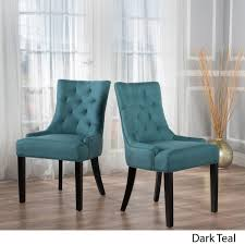 Andrews Dark Teal Fabric Dining Chairs (Set Of 2) | Walmart Canada Nula Velvet Ding Chair Emerald By Zanui Buy Chairs Online At Overstock Our Best Room Bar Ottawa Cadieux Interiors Fniture Store Photos Hgtv Turquoise Aurora World Austin Tx 6 X Brown Leather Style Kitchen Ding Chairs With Suede Panel Homespot Archie Pu Set Of 2 4 Black Oval Table High Back Rockefellar Or Sorrento Arm Canaletto Walnut Wood Base Dark Green