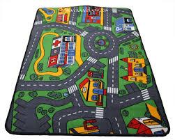 tapis de jeux voitures enchanteur sol pvc circuit voiture avec carrelage design tapis de