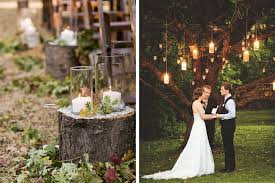 Outdoor Rustic Wedding Decorations Decoration
