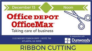 fice Depot Ribbon Cutting
