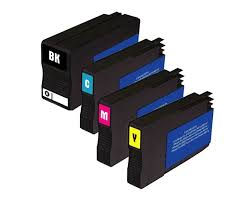 ficeJet 7612 Ink Cartridges 4 Color Pack patible High yield