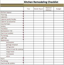 Home Improvement Cost Estimates Home Renovation List Kitchen
