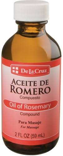 De La Cruz Aceite De Romero Rosemary Oil - 2oz