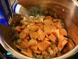 Crock Pot Potato Soup Mama by Chicken Sweet Potato And Kale Soup Instant Pot Recipe