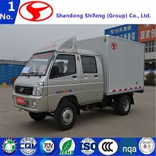 China Light Duty Delivery Van Truck/Box Truck/Cargo Truck For Sale ...