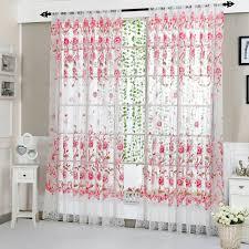 vorhang tuch garn grid bestickt tüll vorhang wohnzimmer schlafzimmer abdeckt transparenten boden zu front vorhänge