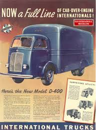 Old International Ads From The COE's (Cab Over Engine) • Old ...