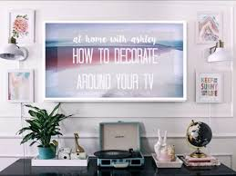 How To Decorate Around Your TV GIF