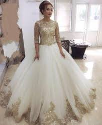 online get cheap gold ball gown party evening dress sequins tulle