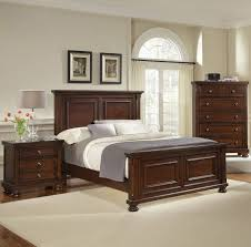 Vaughan Bassett Dresser Knobs by Reflections Queen Mansion Bed Dark Cherry By Virginia House