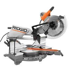 Ridgid Tile Saw Blade by 12 In Dual Bevel Sliding Miter Saw Ridgid Professional Tools
