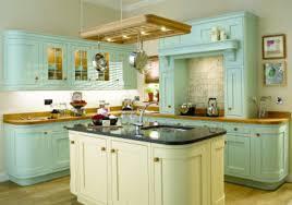 Vintage Color Painted Kitchen Cabinets Ideas