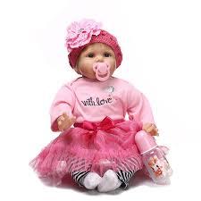 Meigar 6 Pcs Cute Dolls Dollhouse, Miniature Poseable Wooden House