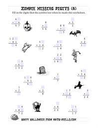 Halloween Multiplication Worksheets 3rd Grade by Division Worksheets 4th Grade Math For Grad Koogra