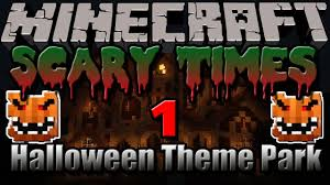 Halloween Theme Park by Halloween Theme Park Minecraft Scary Times 1 Youtube