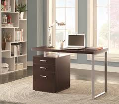 Coaster Contemporary Computer Desk by Grey Modern Desk Co 520 Desks
