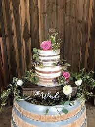 Wedding Dessert Stand Wood Cake Personalized